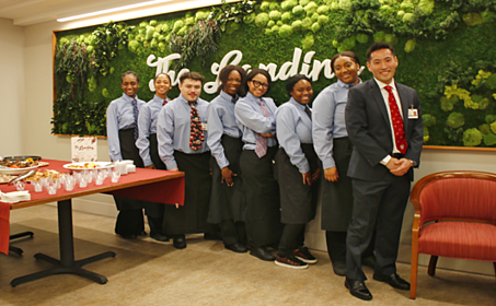 Employees of The Landing Bistro at Collington